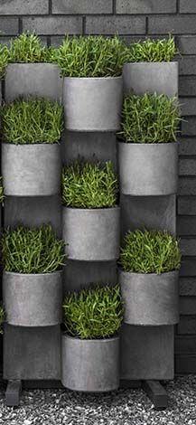 Vertical Wall Garden Ideas photo via diyhomedecorguidecom Garden Anywhere Vertical Garden System 2 S1
