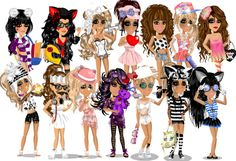 Image result for moviestarplanet vip looks