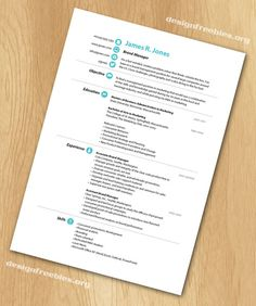 Resume Design Magazine Layout NOW Just Go Find Your Job