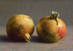 still life quick heart — Henk Helmantel Pomegranates 1993 Still Life 2, Be Still, Selling Paintings, Fruit Painting, Dutch Painters, Hyperrealism, Painting Still Life, Dutch Artists, Fruit Art