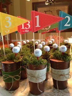 Golf Themed Centerpieces | Buy
