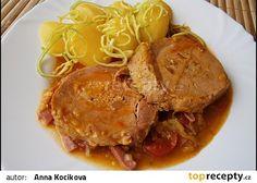 Šťáva(omáčka)k masu Czech Recipes, Ethnic Recipes, Pot Roast, Stew, Food And Drink, Treats, Cooking, Carne Asada, Sweet Like Candy