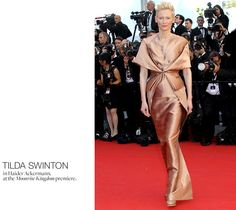 Haider Ackermann, of course. Cannes 2012, style.com Photo by Valery Hache/AFP/Getty Images