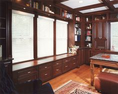 Glencoe Residence traditional-home-office