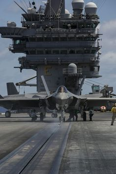 Fighter on the carrier..