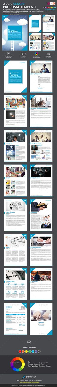 Company Proposal Template Proposal templates, Branding design - company proposal template
