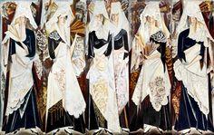 Spanish Women by Natalia Goncharova