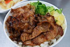 Taiwanese BBQ pork rice