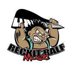 Reckit Ralf Music Logo