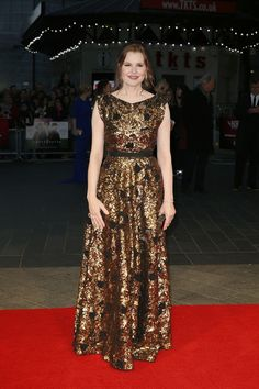 Geena Davis attends the Suffragette Premiere during the Opening Night Gala during the BFI London Film Festival at Leicester Square on October 7, 2015 in London, England.