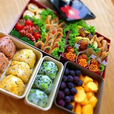 """Summary of athletic staple """"rice balls""""! Check from popular photos such as rice balls and cute deco rice balls! Bento Recipes, Healthy Recipes, Cute Food, Yummy Food, Food Crush, Food Platters, Picnic Foods, Bento Box Lunch, Japanese Food"""