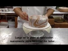 Como hacer pasta laminada Marmoleado (Marbling the Fondant) - YouTube