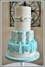 Tiffany blue vintage wedding cakes - Google Search
