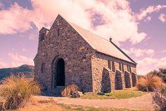 Lake Tekapo -Church of the Good Shepherd by Julie Powell on 500px