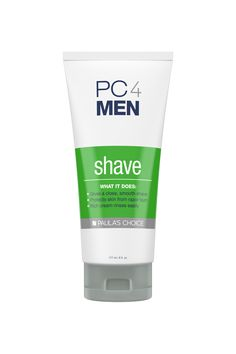 PC4MEN Shave is ultra-soothing and effective shaving cream that safeguards skin while ensuring a close shave. Free of dyes and fragrance; it is clinically proven to be non-irritating.