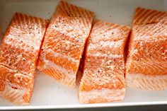 Easy Baked Salmon with Lemon Butter Cream Sauce - Cafe Delites