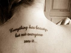 love saying tattoo designs | … and soulful quotes cute tattoos for girls 25 sweet quote tattoos for | best stuff