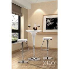 Black Soda Barstool by Zuo Modern 300250