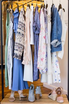 Maybe you're one of those effortless dressers: The girl who knows her color palette, what hangs best where, and how