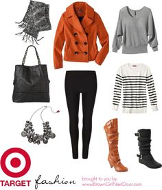 """Fall Fashion: Target.com"" by browngrlnxtdoor on Polyvore"