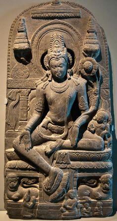 Stone Statue at the Asian Art Museum, San Francisco, CA   par Images by John 'K'