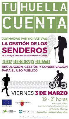 Medio Ambiente celebra una mesa redonda sobre la gestión de los senderos del parque regional El Valle y Carrascoy