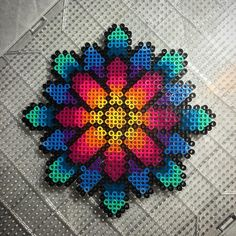 Daisy perler beads by aeonmetrik