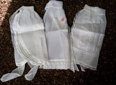 Vintage White Sheer Aprons  Lot of Vintage by VintagePlusCrafts, $36.00
