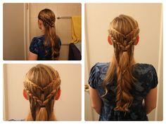 GOT Season 3: Daenerys Targaryen, Slaver's Bay Inspired Hair.