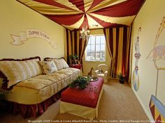 Playroom ideas - this link is somebody's house daydreaming...kinda' like this here. :)