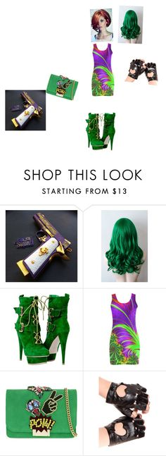 """Joker's daughter Jenna J"" by kittywithpickles ❤ liked on Polyvore featuring GEDEBE"
