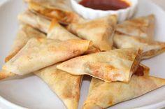 My Kitchen Snippets: Baked Chicken Samosas