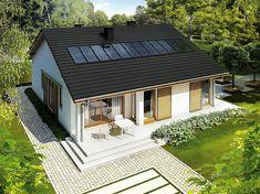 Projekt domu Rafael III 95,56 m2 - koszt budowy 192 tys. zł - EXTRADOM Home Fashion, Bungalow, House Plans, House Design, Cabin, House Styles, Interior, Outdoor Decor, Home Decor