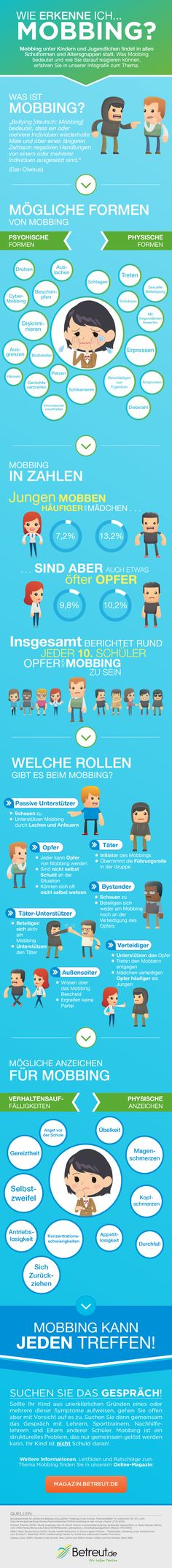 Mobbing Infografik: CybermobbingThe Mob The Mob may refer to: Autism Education, Elementary Education, Special Education, Social Work, Social Skills, Conversation Starters For Kids, German Grammar, Learn German, Tabu