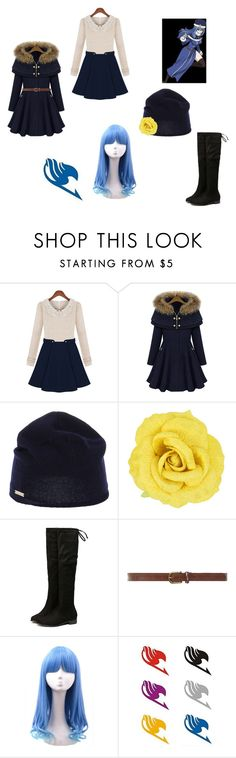 """""""Juvia Lockser Fairy Tail"""" by opaldusk ❤ liked on Polyvore featuring Juvia, Dsquared2, Dorothy Perkins, women's clothing, women, female, woman, misses and juniors"""