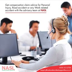 YOUR ONE STOP SOLUTION! National Accident Support Line  Contact now: 0321 2122730 and get answers to your queries related to claim and compensation on accidents and work related injuries and more.  #claim #compensation #injuries #accidents #support #solicitor