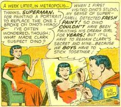 """Superman's Girlfriend, Lois Lane #10 - """"Lois Lane's Romeo"""" (1959) art by Kurt Schaffenberger"""