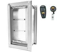 Award Winning Pet Door: Endura Flap Dog Doors For Walls   Dual Flap  Insulation