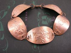 what a good idea! penny smashed disney bracelet...