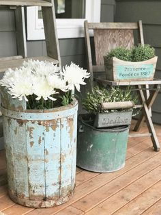 Little Farmstead: Our {Almost} Spring Farmhouse Porch