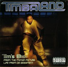 Tim's Bio: Life From Da Bassment - Timbaland bump it! Good Music, My Music, R&b Albums, Hip Hop World, Jay Z, Music Bands, Album Covers, Rap, Songs