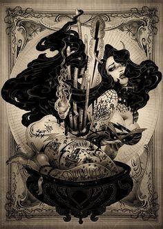 Ink Butter+ONEQ/MAAKO #art