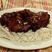 Slow Cooker Honey Garlic Chicken by Allrecipes
