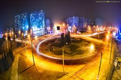 chisinau-by-night-kiri-photography-7 Travel Around The World, Around The Worlds, Moldova, Night Time, Romania, City, Photography, Photograph, Fotografie