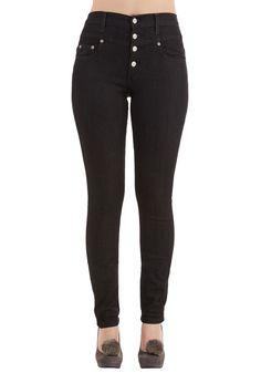 Karaoke Songstress Jeans in Black, #ModCloth
