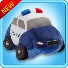 Police car pillow pet.