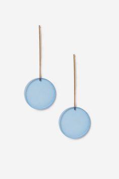 Perspex Stick Drop Earrings