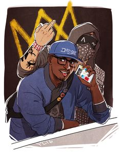 Is that Kapkan and Castle Wrench Watch Dogs 2, Watch Dogs 1, Dog Games, Funny Games, Walking Dead Watch, Night In The Wood, Arte Cyberpunk, Black Cartoon, Gaming Wallpapers