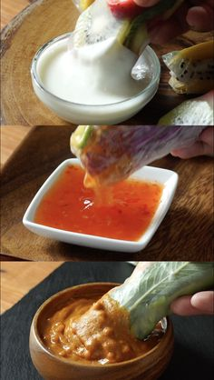 Summer Rolls 3 Ways When you crave a light, refreshing snack, grab rice paper a. - Summer Rolls 3 Ways When you crave a light, refreshing snack, grab rice paper and make a variety of - Vegetarian Recipes, Cooking Recipes, Healthy Recipes, Cooking Ideas, Grilling Recipes, Healthy Snacks, Healthy Eating, Clean Eating, Vegan Dinners