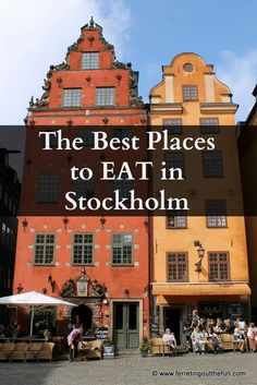 Sweden has one of the tastiest cuisines north of the Baltic. Indulge at some of the best restaurants in Stockholm. Stockholm Restaurant, Restaurant Guide, Stockholm Food, Visit Stockholm, Vasa Museum, U Bahn Station, Baltic Cruise, Mall Of America, North America